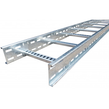 300mm x 100mm Cable Ladder HDG - 3 Meter